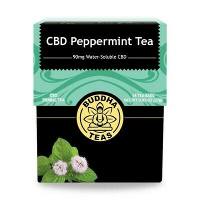 Buddha Tea CBD Peppermint 18ct
