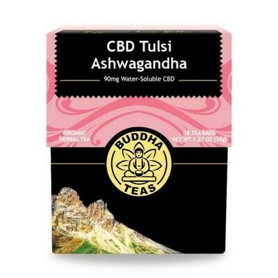 Buddha Tea Cbd Tulsi Ashwagandha