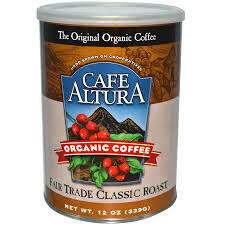 Cafe Altura Ground Fair Trade Classic Roast 12oz