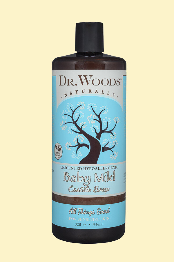 Dr. Woods Baby Castile Soap 32oz