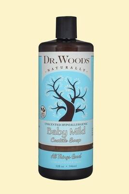 Dr. Woods Baby Castile Soap 32oz