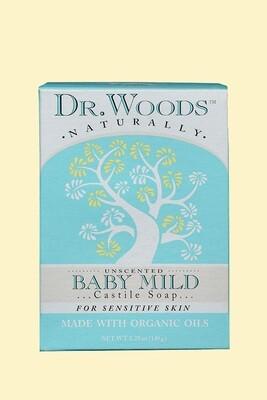 Dr. Woods Baby Mild Bar Soap 5.25oz