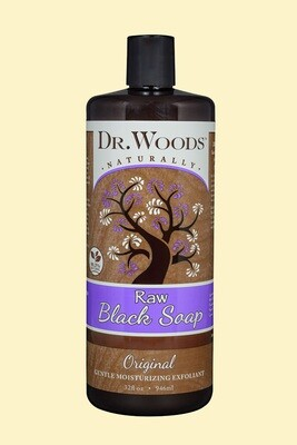 Dr Woods Black Soap 32oz