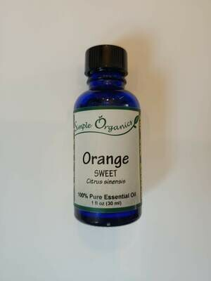 Simple Organics orange EO 1oz