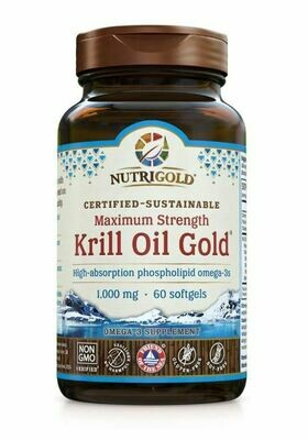Nutrigold Krill Oil 1000mg 60sgel