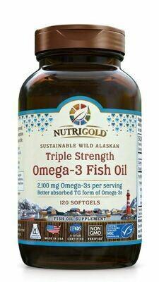 Nutrigold Triple Omega 3 120sgel