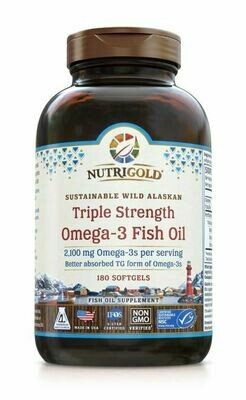 Nutrigold Triple Omega 3 180sgel