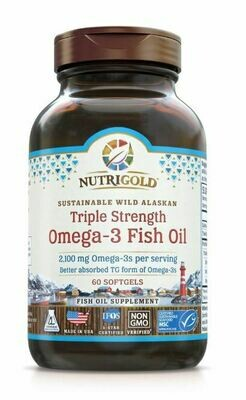 Nutrigold Triple Omega 3 60sgel
