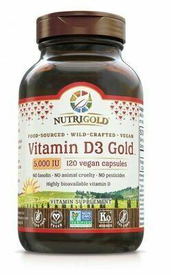 Nutrigold D3 5000 120vcaps