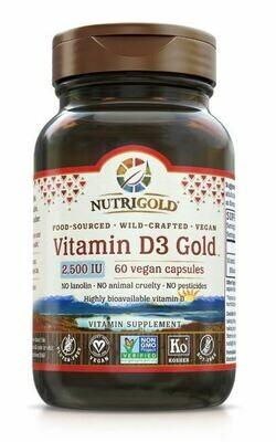 Nutrigold d3 vegan 2500 60 Cap
