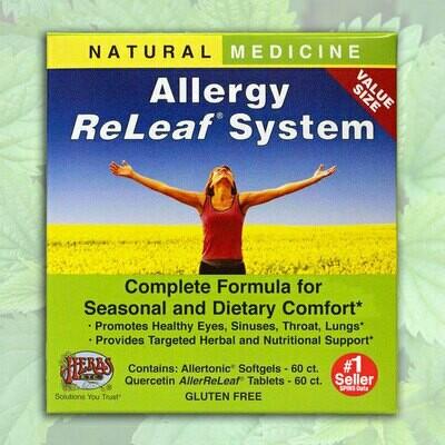 Herbs Etc. Allergy Releaf 60gel/60tab