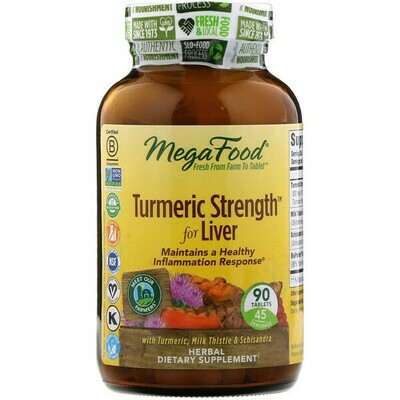 Megafood Turmeric Liver 90tab