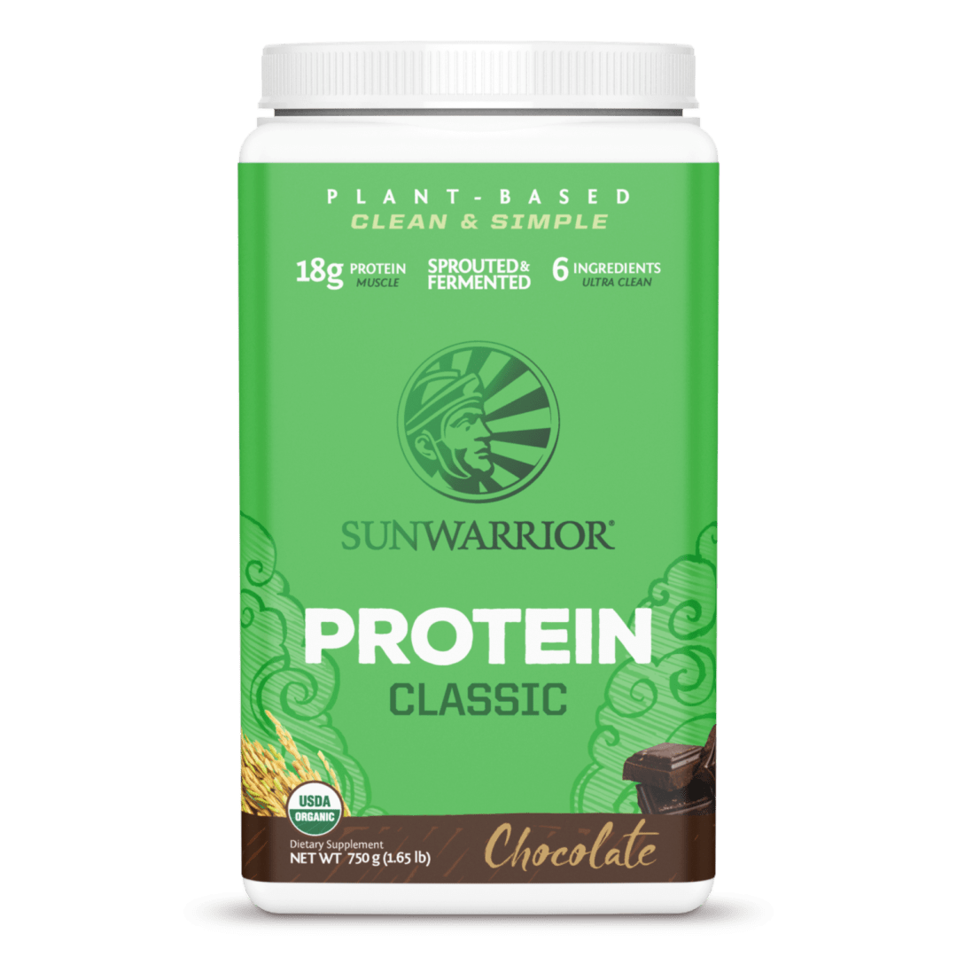 Sunwarrior Classic Protein Clean and Simple Chocolate