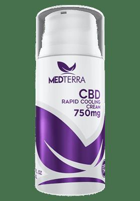 Medterra CBD Rapid Cooling Cream 750 Mg