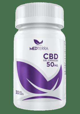 Medterra CBD 30 Gel Cap 50 Mg