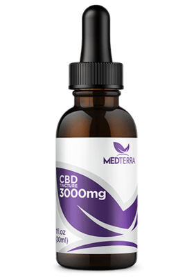 Medterra CBD Tincture 3000 Mg