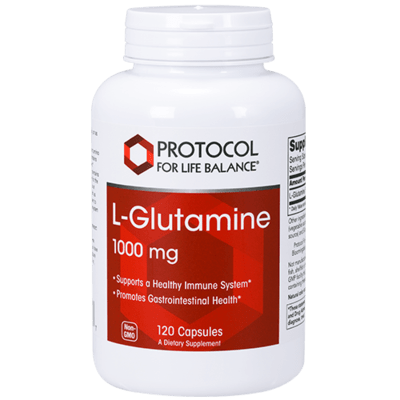 Protocol L Glutamine 1000mg 120cap