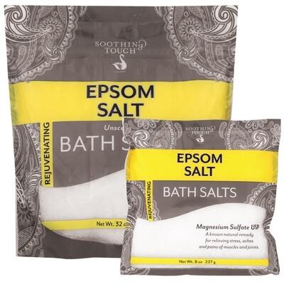 Soothing Touch epsom bath salts 32oz
