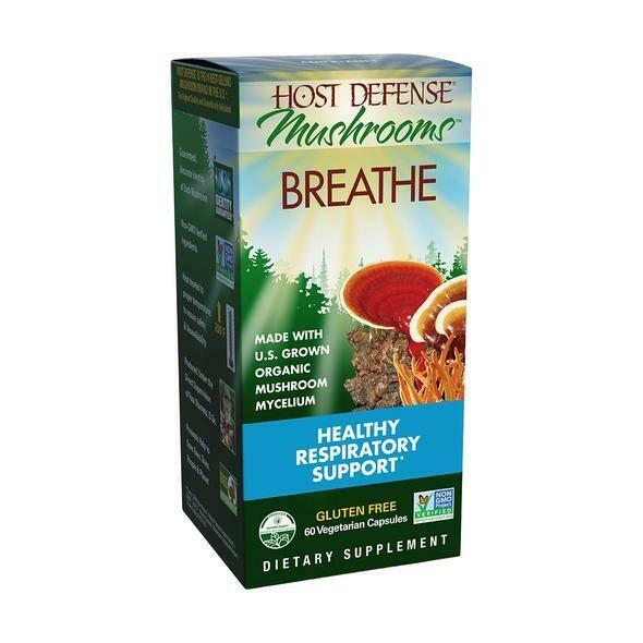 Host Defense Breathe 60 Caps