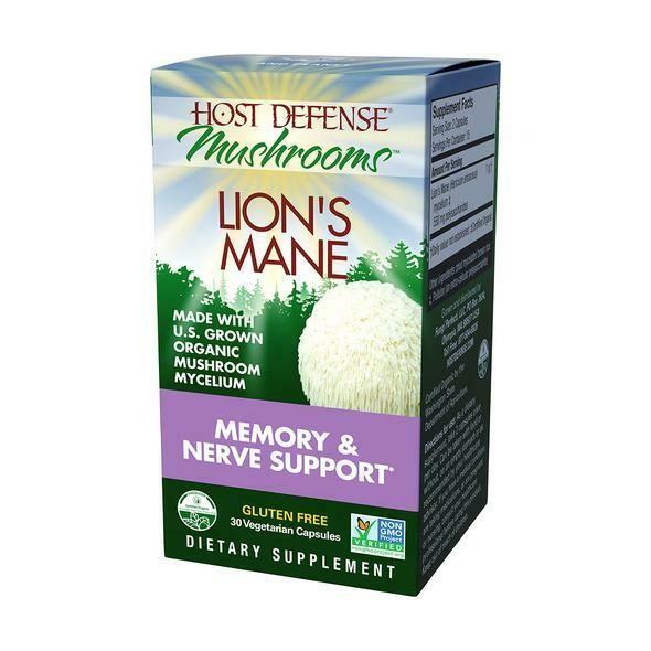 Host Defense Lions Mane 30