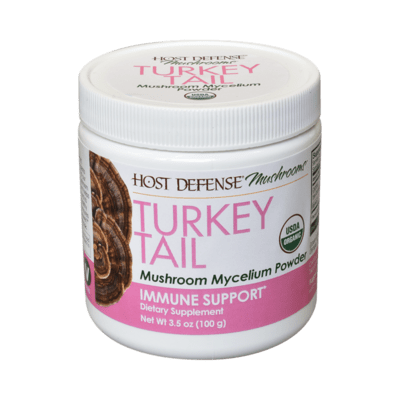 Host Defense Turkey Tail Immune Support Powder
