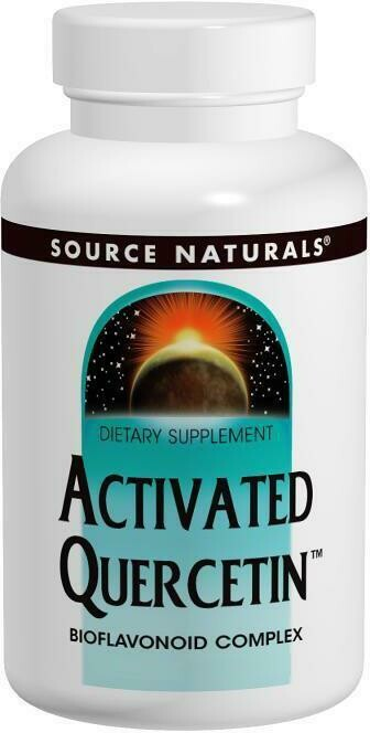 Source Naturals Activated Quercetin 50 Tabs