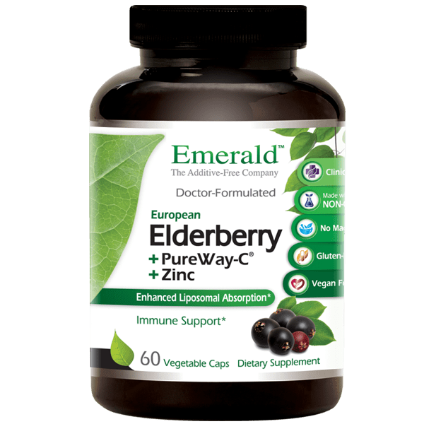 Emerald Labs Elderberry 60 Cap
