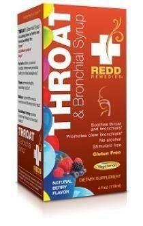 Redd Remedies Throat Syrup Berry 4oz