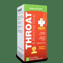 Redd Remedies Throat Syrup Honey 4oz