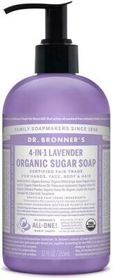 Dr. Bronner's 4-in-1Organic Sugar Soap Lavender 12oz