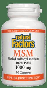 Natural Factors Msm 1000 Mg Cap 90