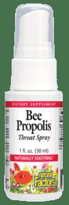 Natural Factors Throat Spray w/Propolis 1oz