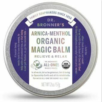 Dr. Bronner's Arnica-Menthol Organic Magic Balm