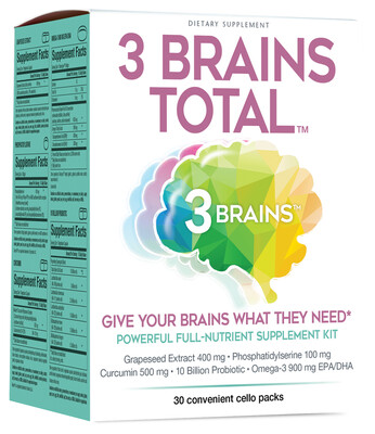 3 Brains Total Sachets 30