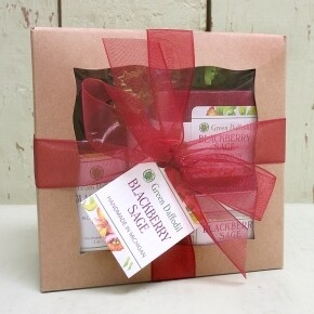 Green Daffodil BlackBerry Sage Boxed Gift Set