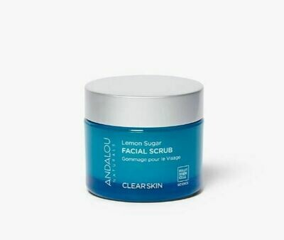 Andalou Clarifying Lemon Sugar Facial Scrub 1.7oz