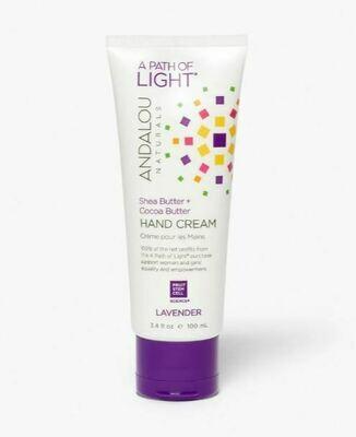Andalou Hand Cream Lavender 3.4oz