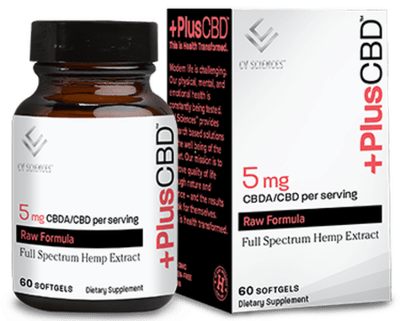 CBD Plus Raw 5mg 60sgel