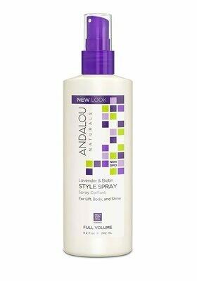 Andalou Lavender Biotin Style Spray 8.2oz