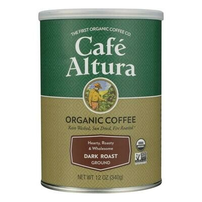 Cafe Altura Ground Dark Roast 12oz