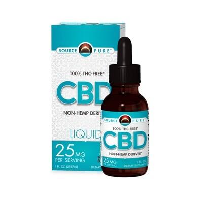 Source Naturals CBD 25mg THC Free 1oz