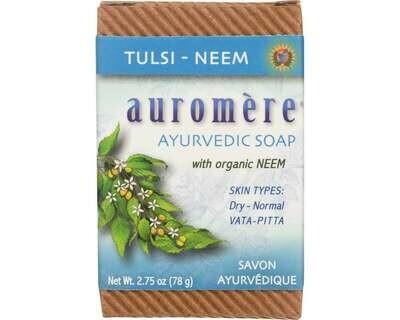 Auromere - Tulsi Neem Soap 2.75oz