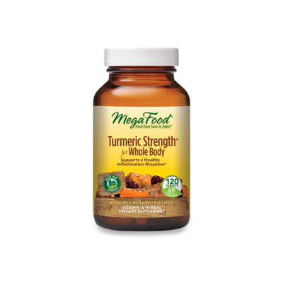 Megafood Turmeric Whole Body 120tab