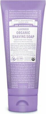Dr. Bronner's Organic Shaving Soap Lavender
