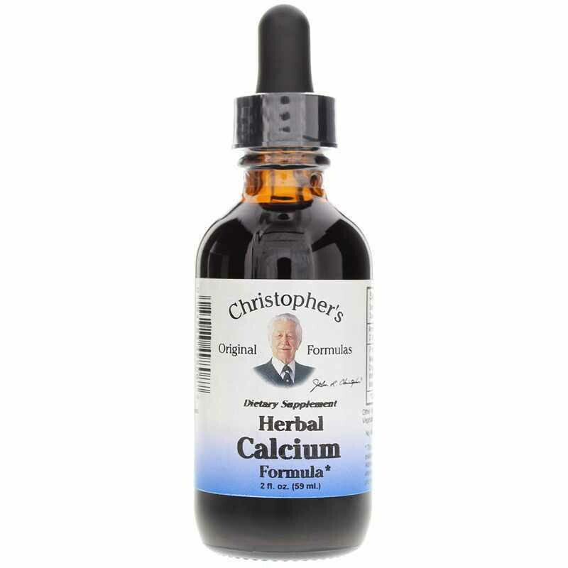 Dr. Christopher's Herbal Calcium 2oz