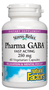 Natural Factors Pharma GABA 250mg 60cap