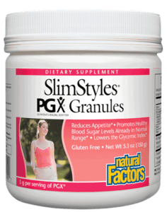 Natural Factors Slimstyles Pgx Granules