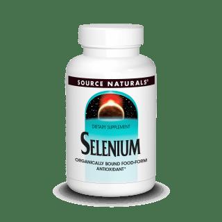 Source Naturals Selenium 200 Mcg 60 Tabs