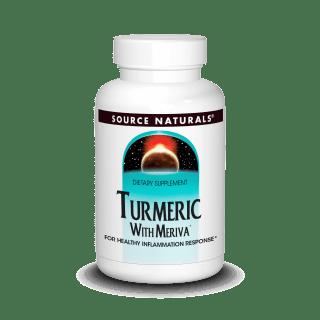Source Naturals Turmeric With Meriva 120 Tabs