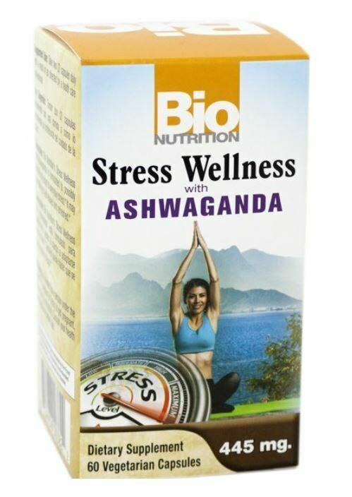 Bio Nutrition Stress Wellness 60vcap
